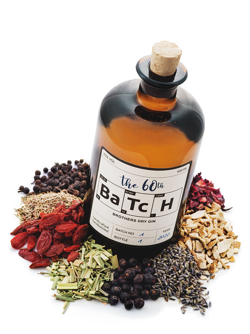 BROTHERS DISTILLERY The 60th Bartch Dry Gin